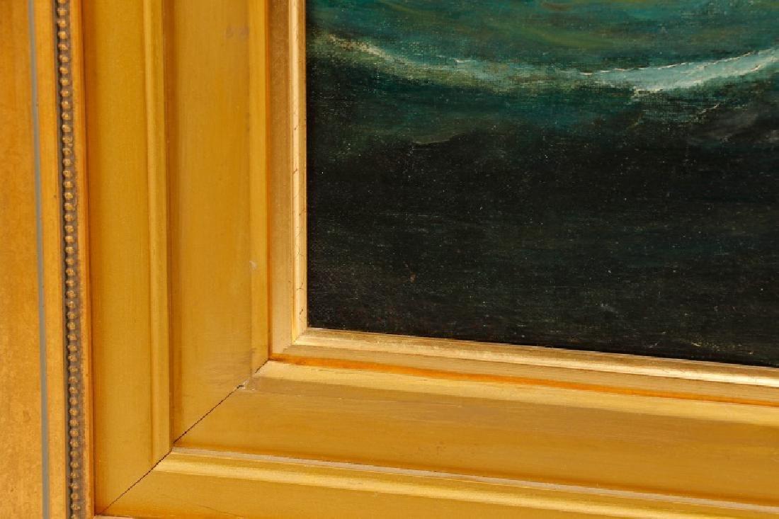 Edward Hoyer, Marine Oil Painting, Signed - 9