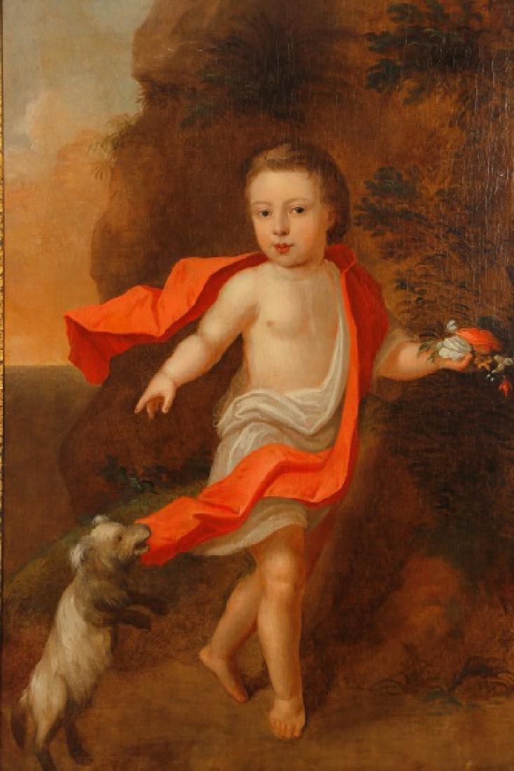 """British School, """"George III as a Boy"""", O/C - 2"""