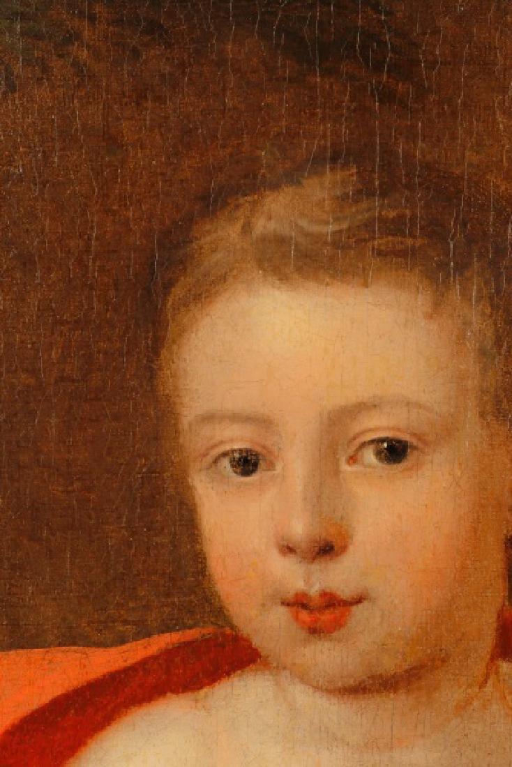 """British School, """"George III as a Boy"""", O/C - 5"""
