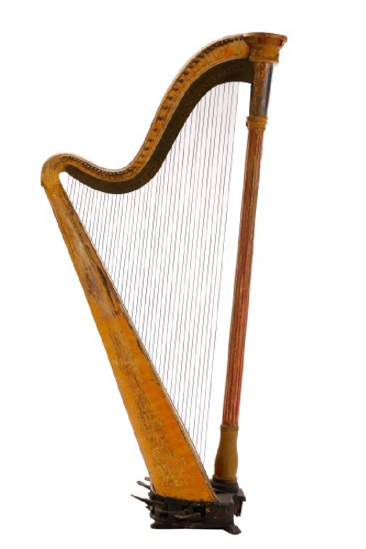 Fine Irish Regency Classical Harp by John Egan