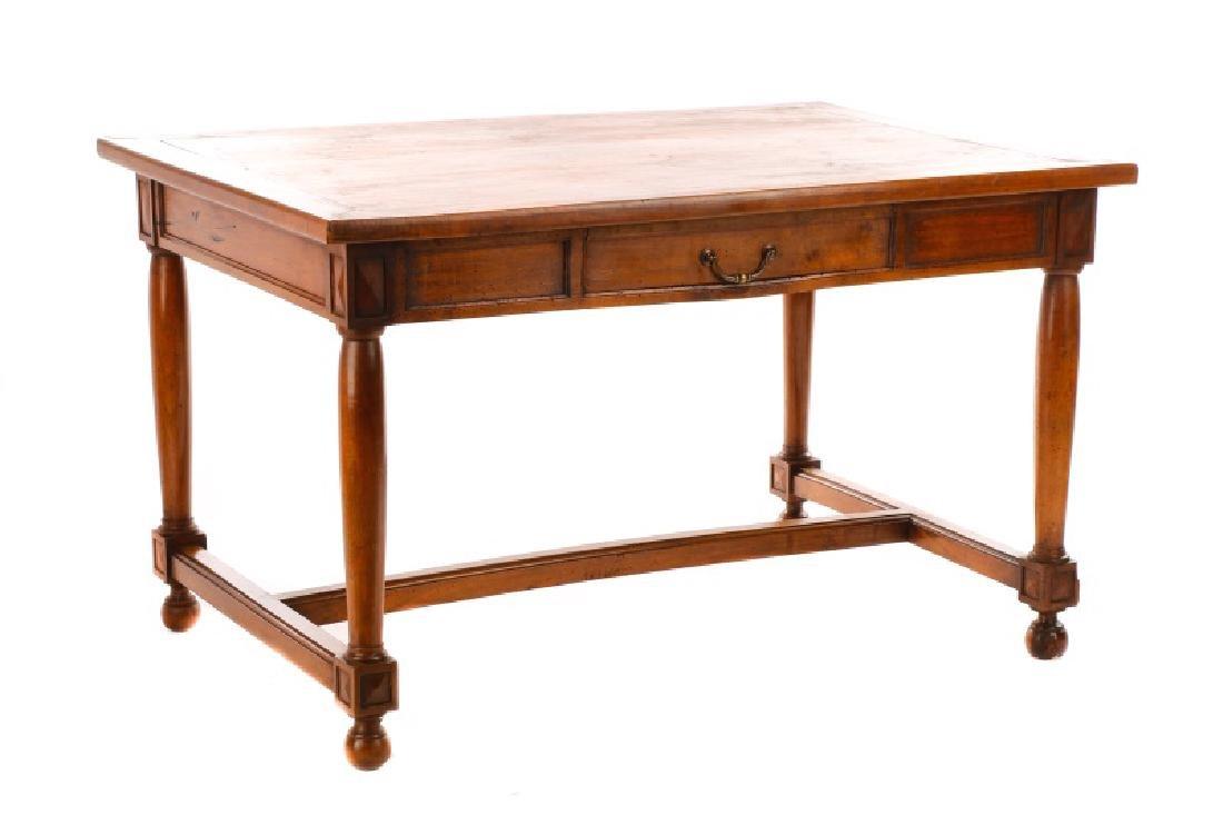 French Louis Philippe Style Bureau Plat Desk