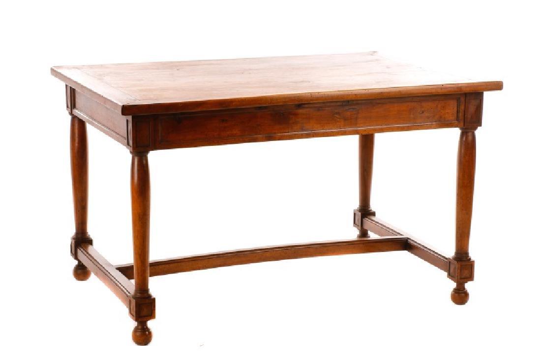 French Louis Philippe Style Bureau Plat Desk - 3