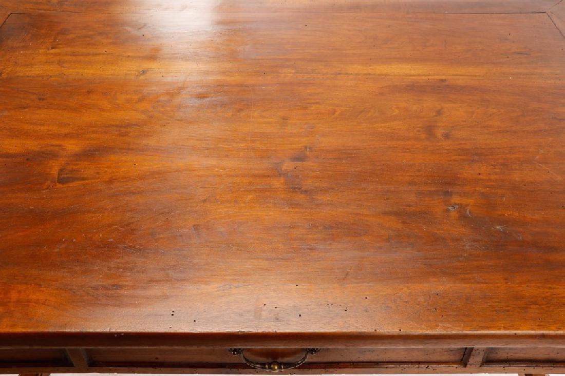 French Louis Philippe Style Bureau Plat Desk - 8