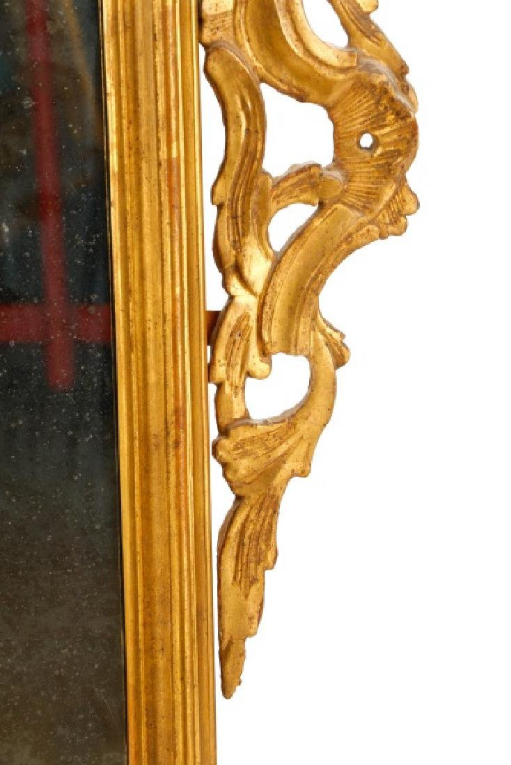 Continental Giltwood Rococo Style Mirror, 19 C. - 4