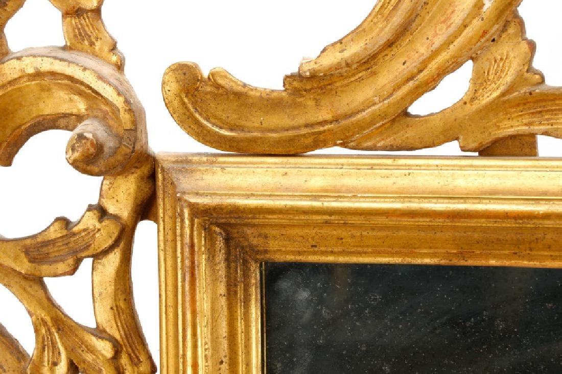 Continental Giltwood Rococo Style Mirror, 19 C. - 5