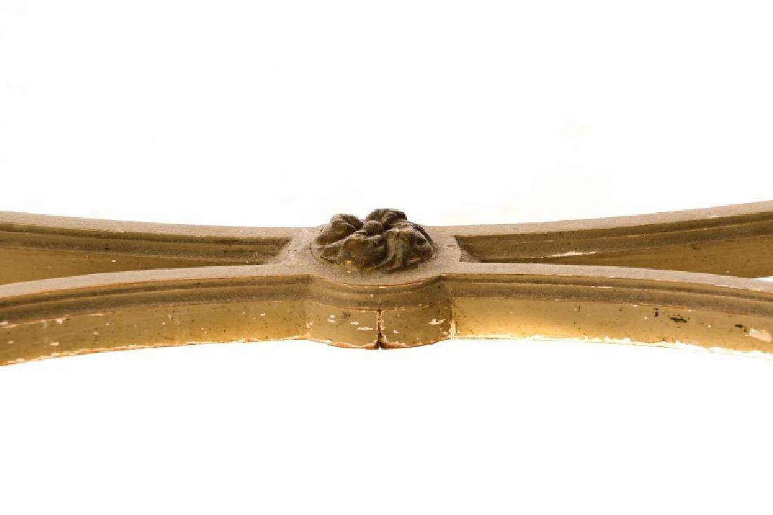 Louis XVI Style Mirrored Marble Top Vanity & Chair - 5