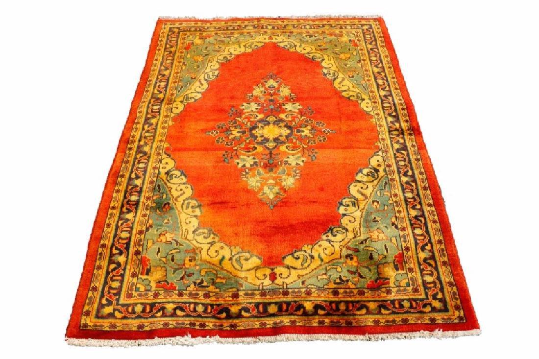 Hand Woven Persian Khamseh - 4' 7'' x 6' 5''