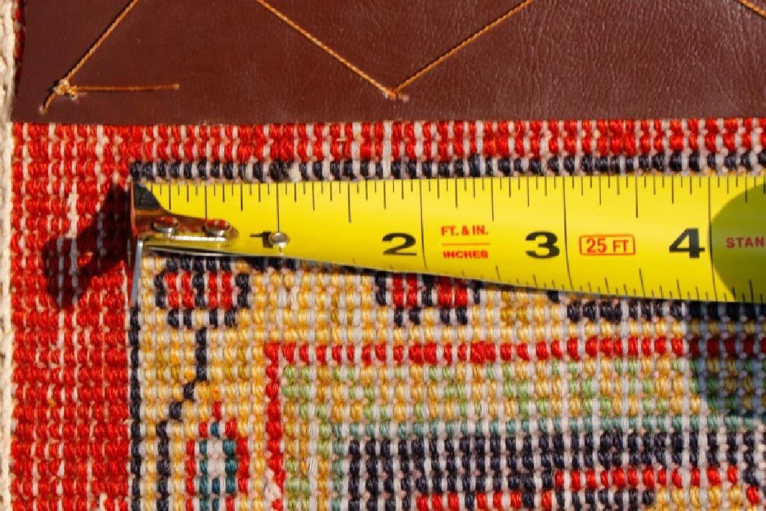 Hand Woven Persian Khamseh - 4' 7'' x 6' 5'' - 7