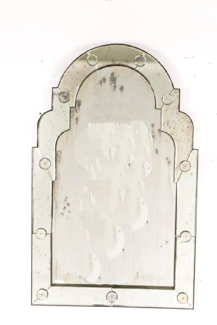 Venetian Art Deco Style Mirror