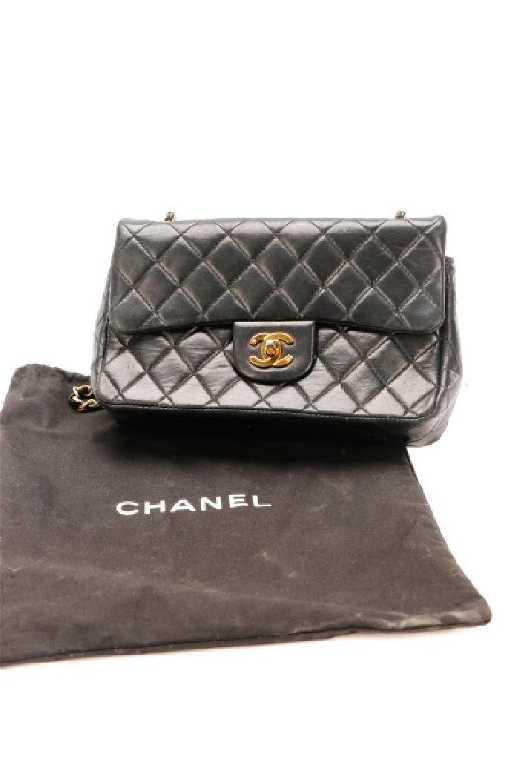 49095dcfd90b03 Vintage Chanel Medium Classic Double Flap Bag. placeholder
