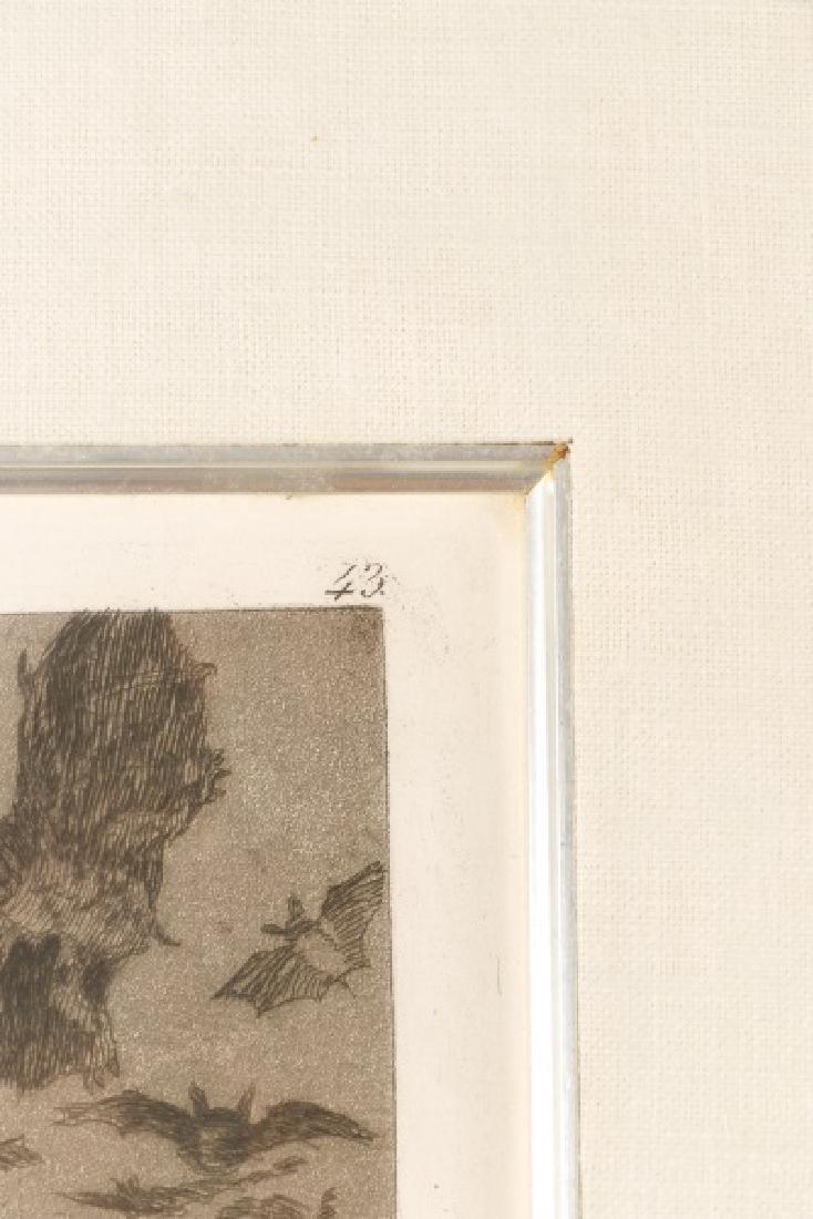 Goya, Sleep of Reason Produces Monsters, Etching - 2