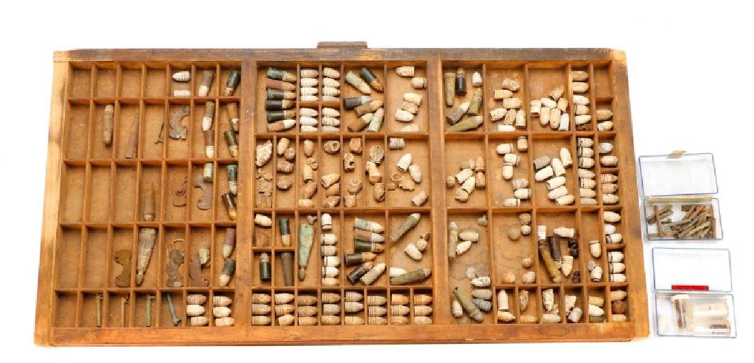 Large Collection of Civil War Bullets - 2