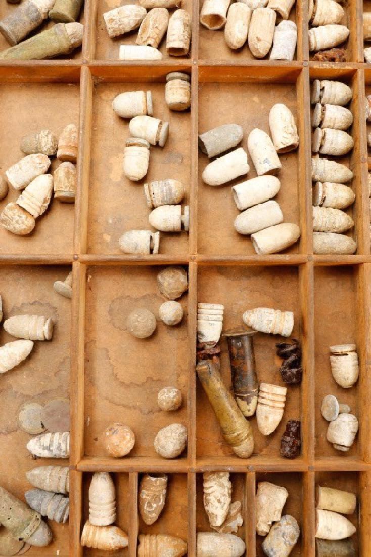 Large Collection of Civil War Bullets - 3