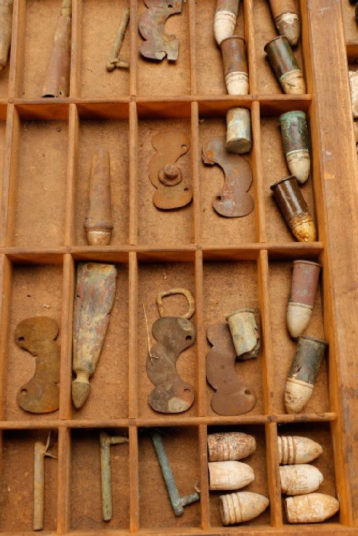 Large Collection of Civil War Bullets - 5