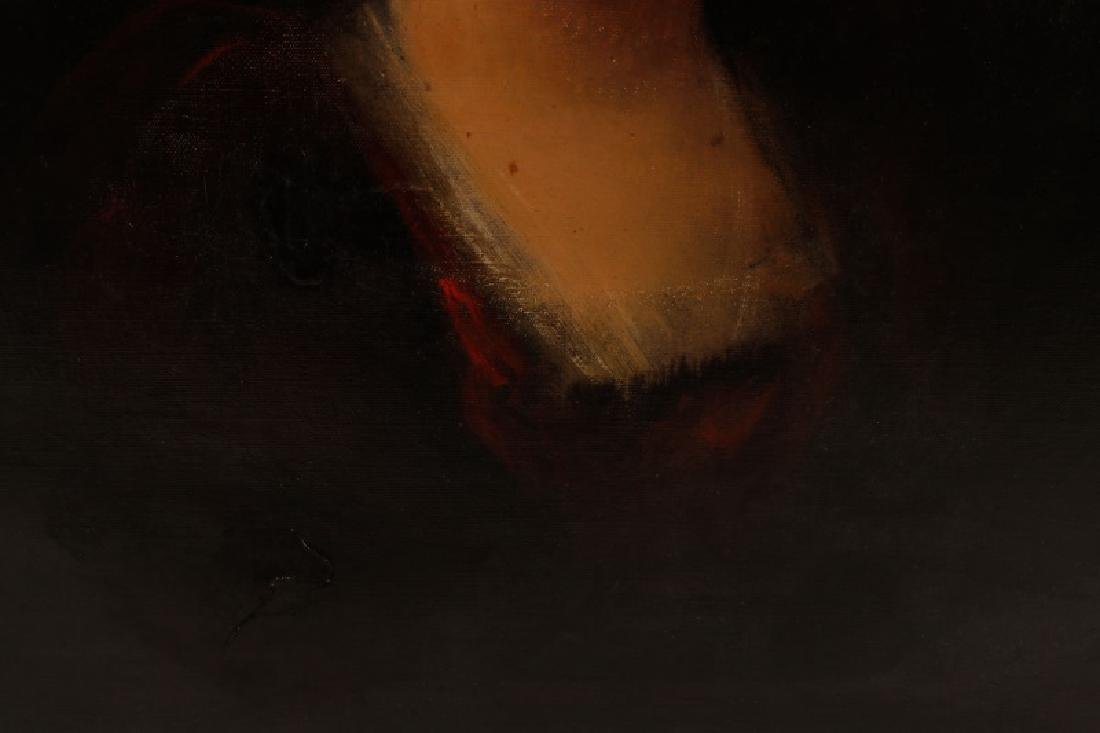 """Continental, """"Portrait of a Woman in Red"""", O/C - 7"""