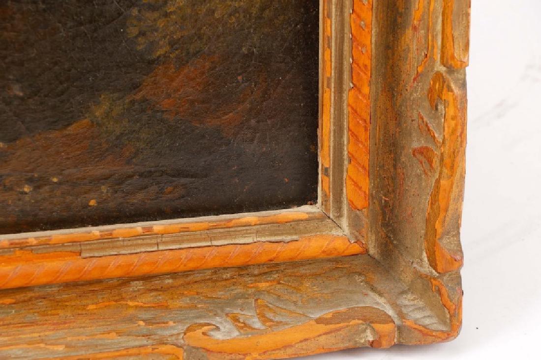"Style of Magnasco, ""Arcadia"", Oil on Board - 10"