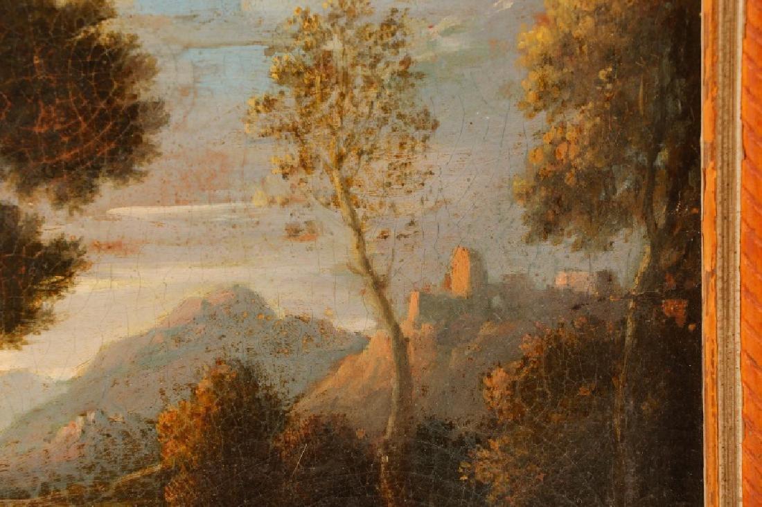 "Style of Magnasco, ""Arcadia"", Oil on Board - 2"