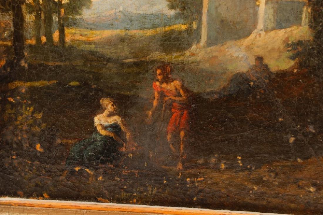 "Style of Magnasco, ""Arcadia"", Oil on Board - 5"