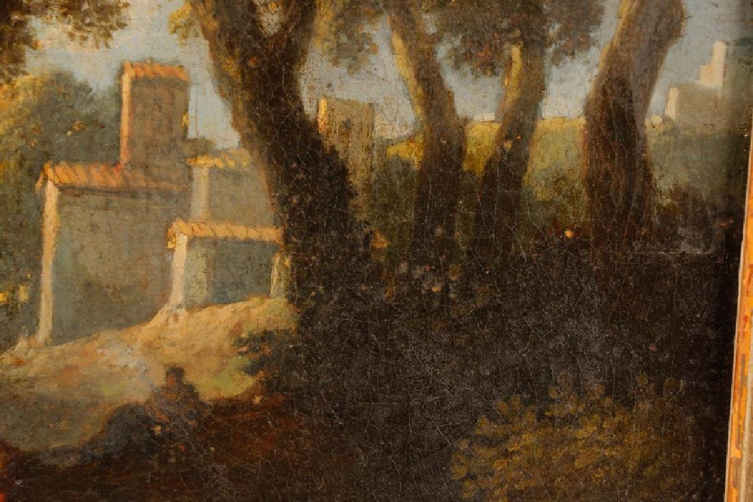 "Style of Magnasco, ""Arcadia"", Oil on Board - 6"