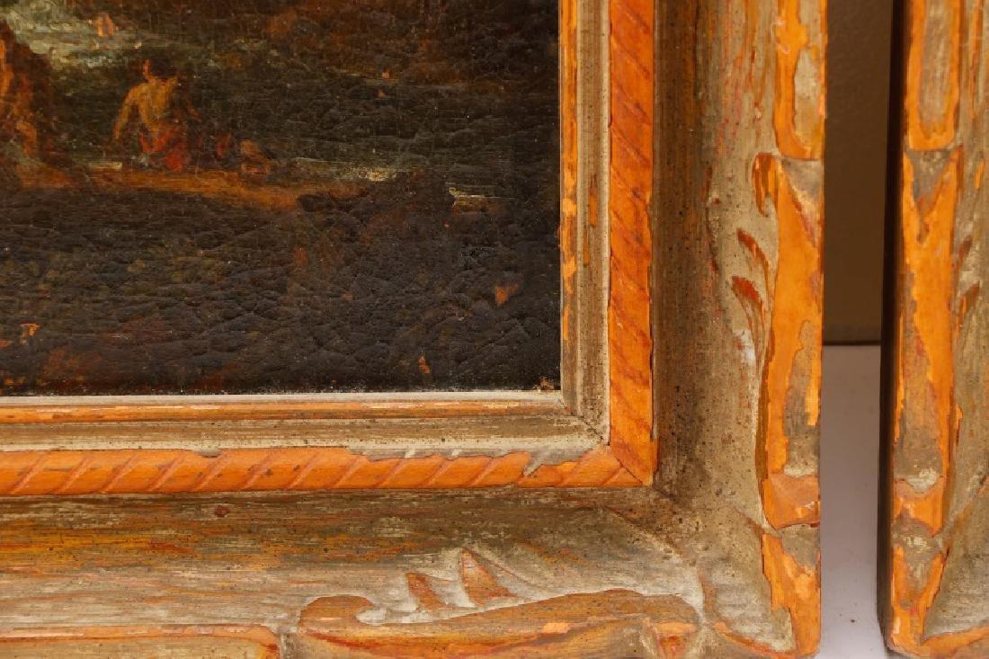 "Style of Magnasco, ""Arcadia"", Oil on Board - 8"