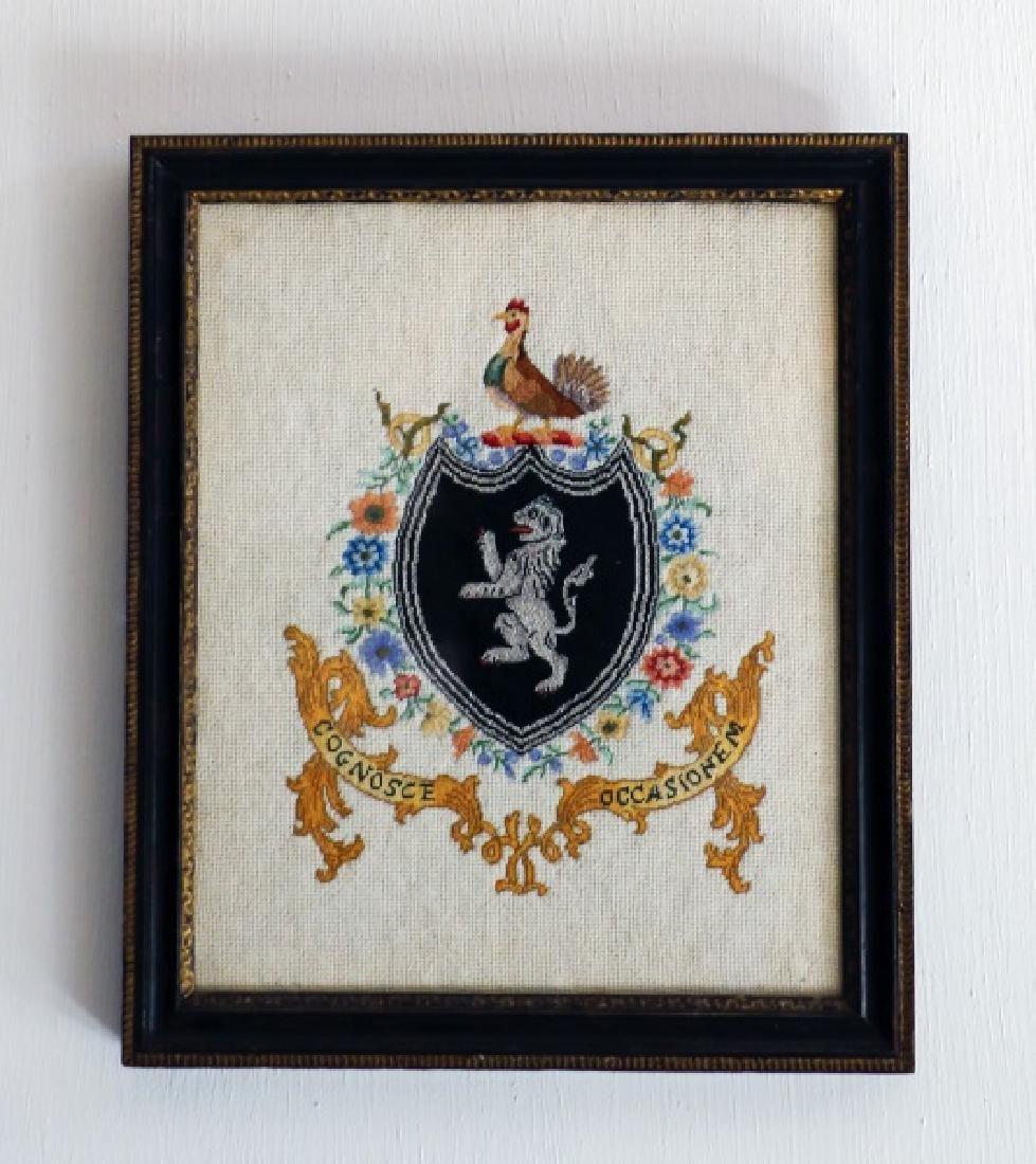 American Needlework Family Crest, 20th Century