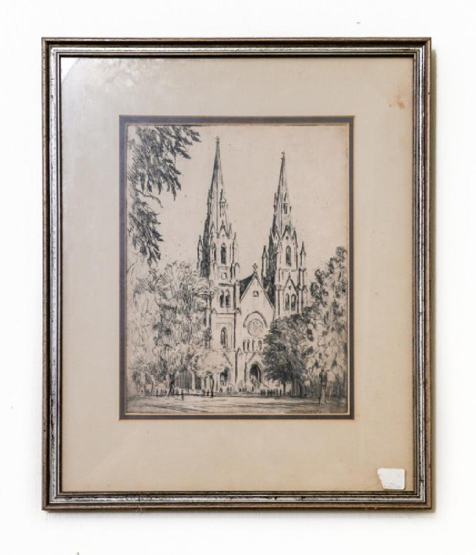 "Christopher Murphy Jr., ""St. Michaels,"" Etching"