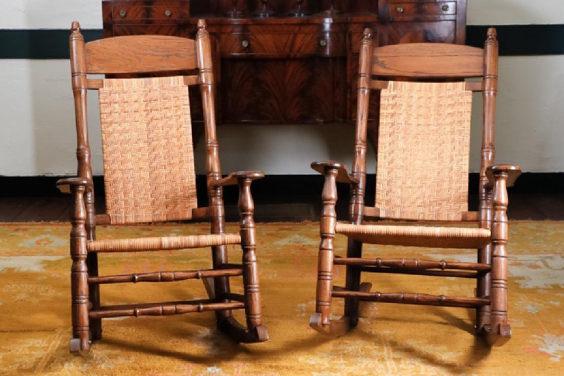 Pair, Brumby Company Porch Rocking Chairs
