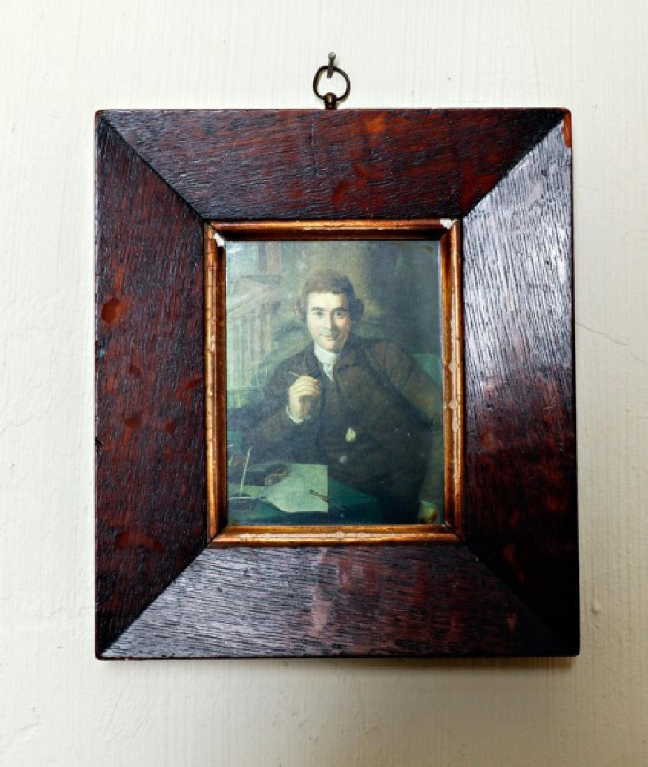 Group, Four Assorted Framed Portraits