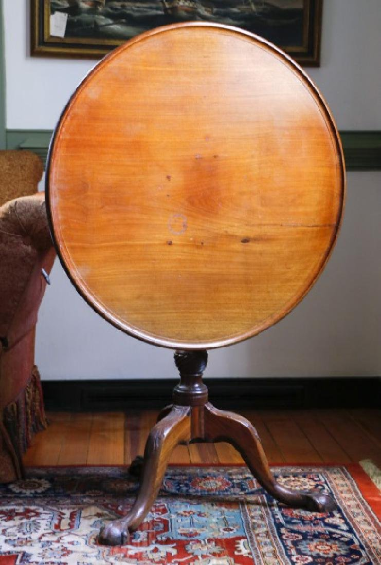 Chippendale Style Mahogany Tea Table