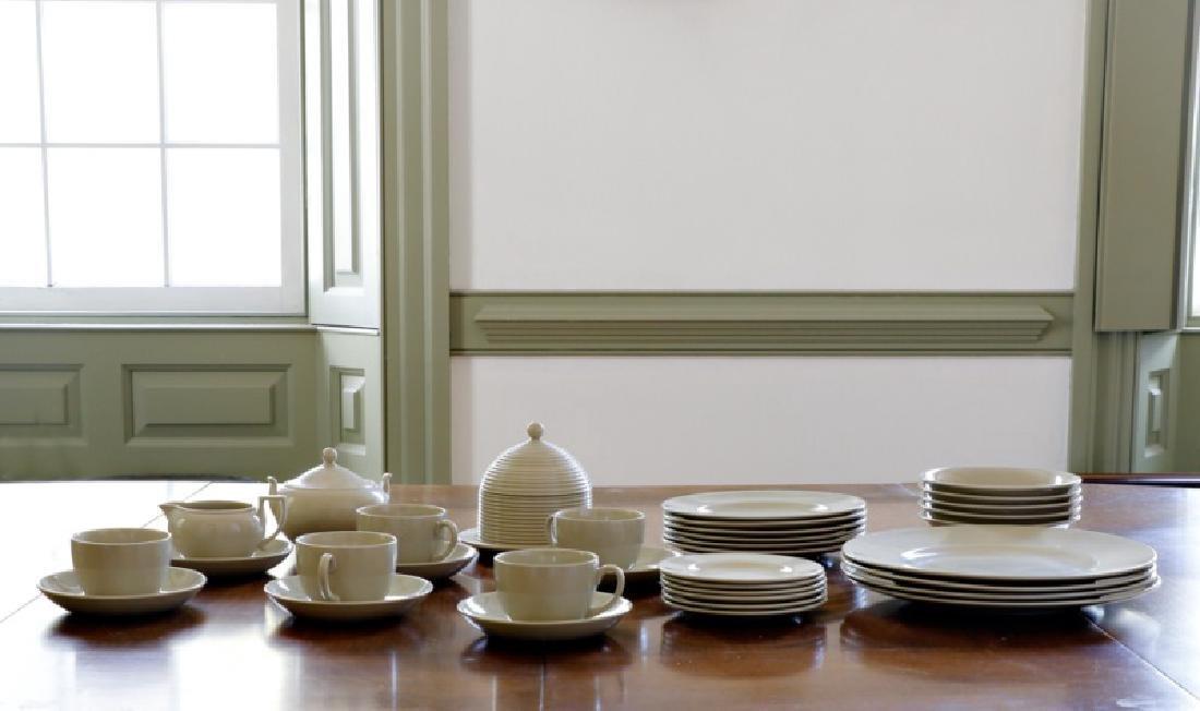 Modern Wedgwood Dinnerware, 35 Pieces