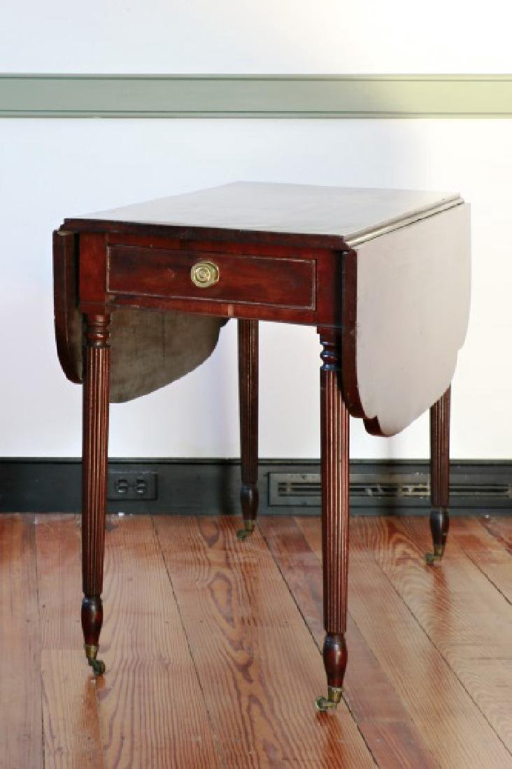 Mahogany Pembroke Table, 19th C.