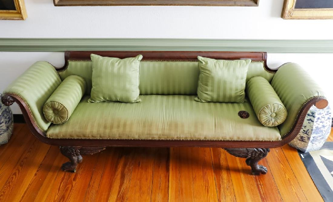 Federal Mahogan Style Sofa, Attributed to D. Phyfe