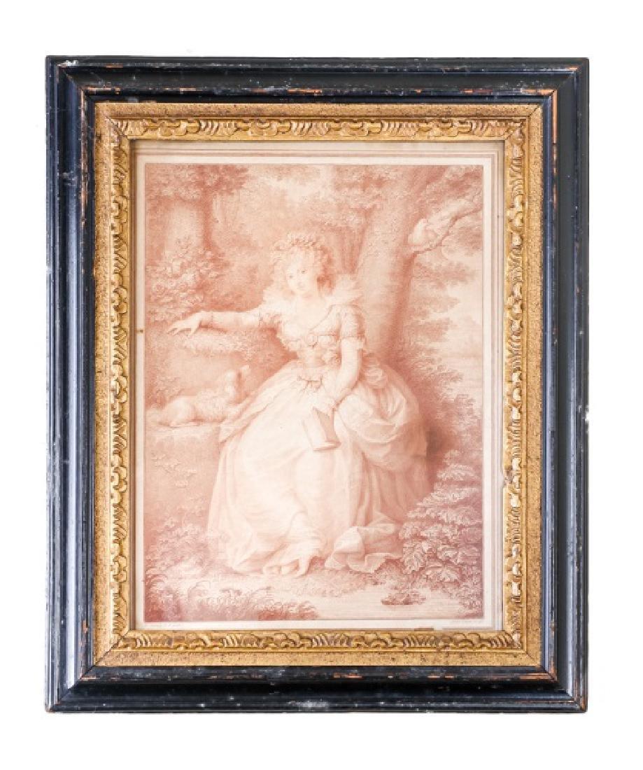 John Conde, Mrs. Fitzherbert 1792 Engraving