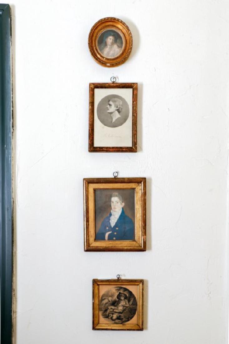 Group, Four Assorted Framed Prints