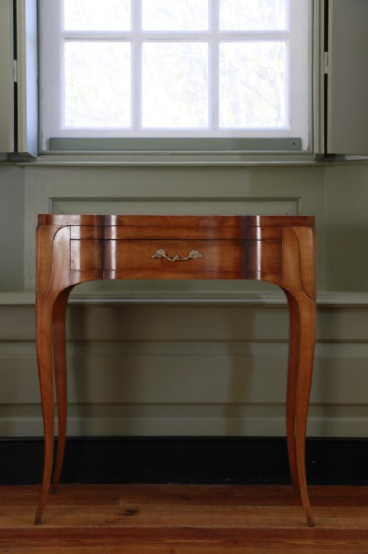 French Louis XV Style Fruitwood Vanity