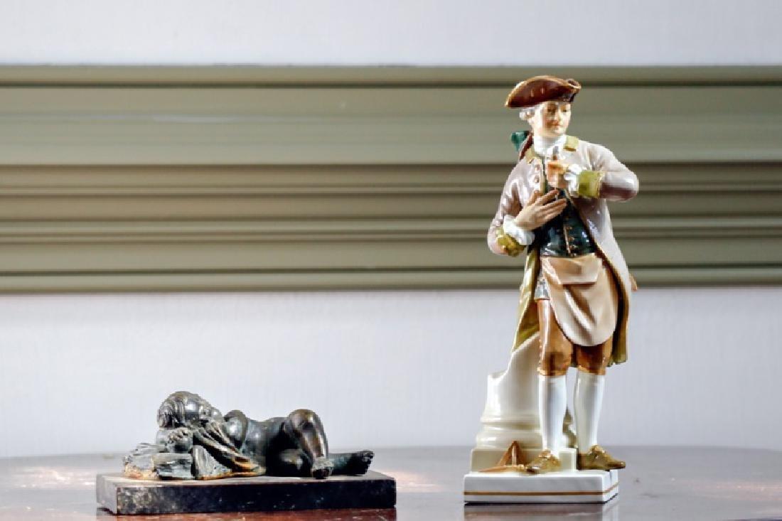 Figurine Group, Including KPM
