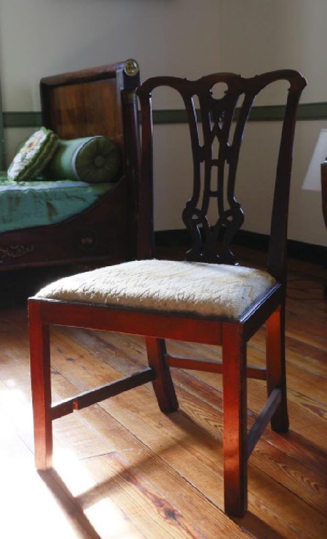 Chippendale Style Mahogany Side Chair