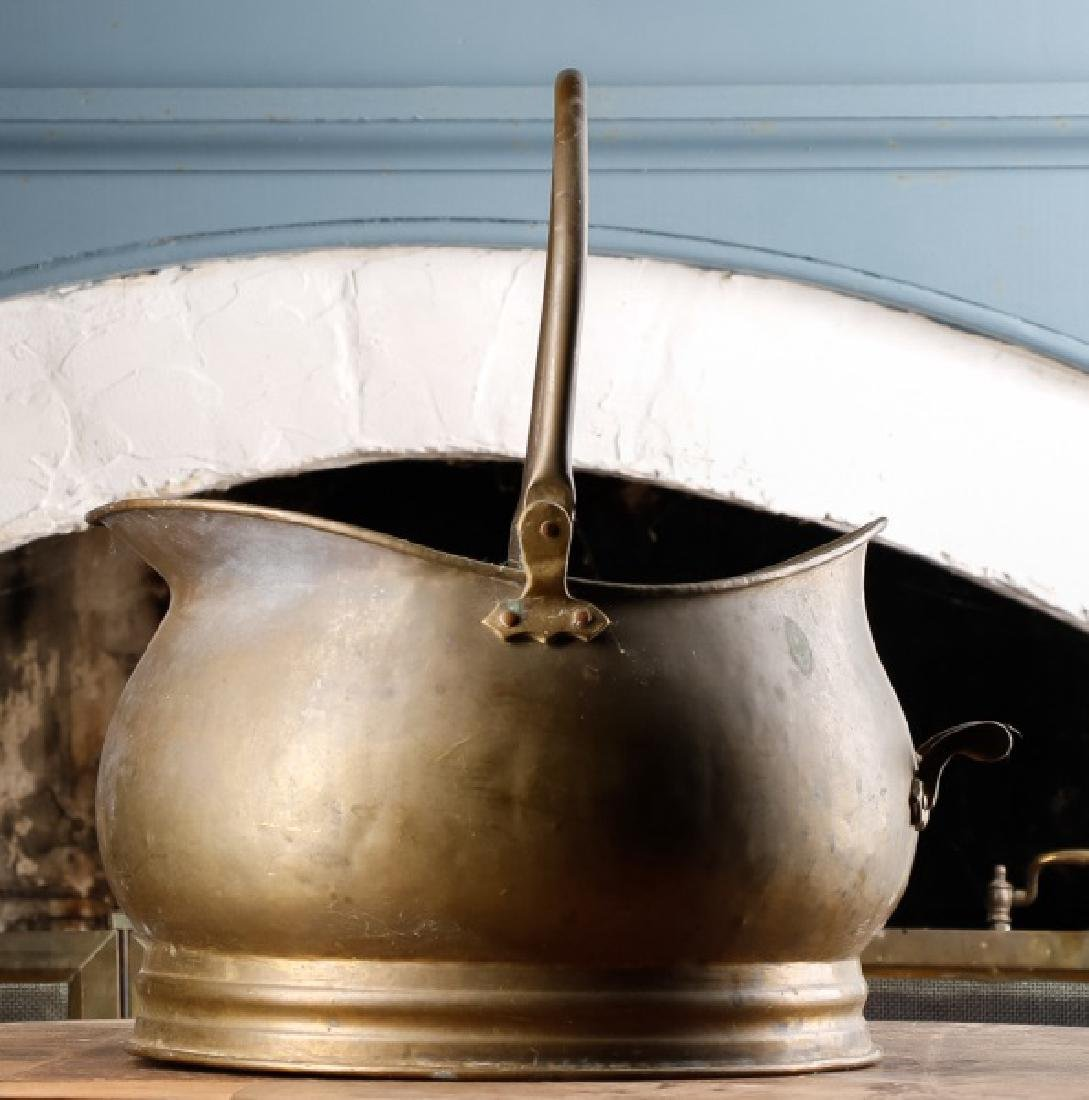 American Brass Coal Bucket