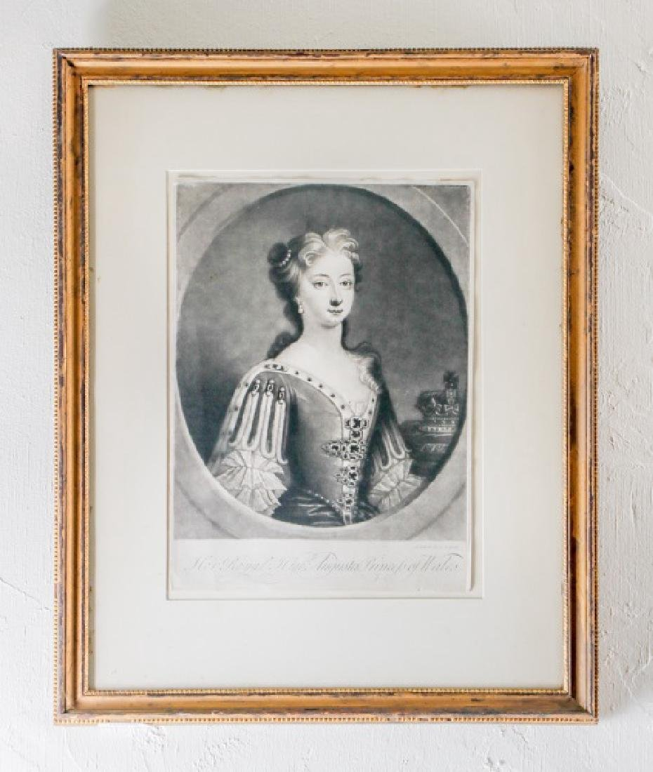 "J. Simon, ""Augusta Princess of Wales,"" Engraving"