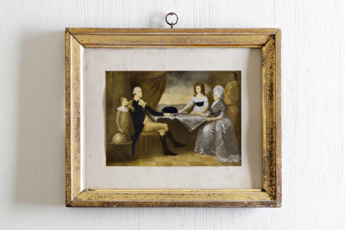 "After Edward Savage, ""The Washington Family"" Print"