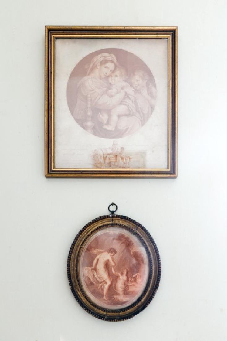2 Etchings after Raphael & Capriani