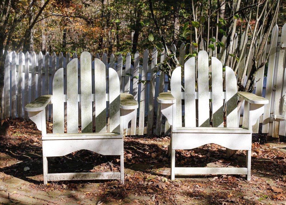 Pair, Adirondack Chairs
