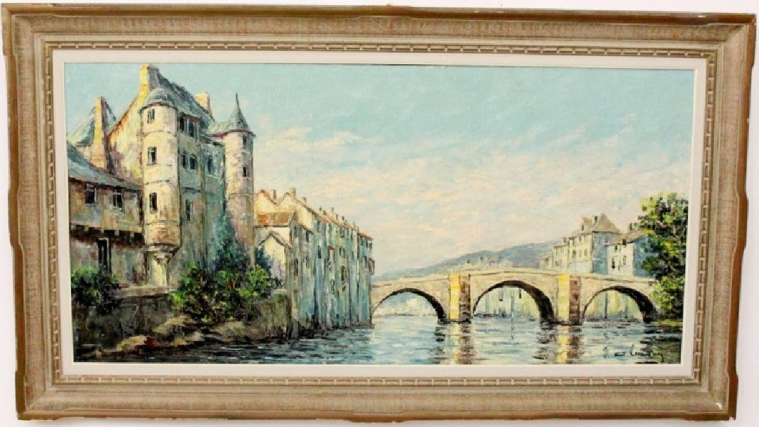 20th C. European Landscape Oil Painting