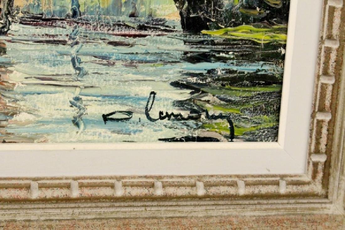 20th C. European Landscape Oil Painting - 5