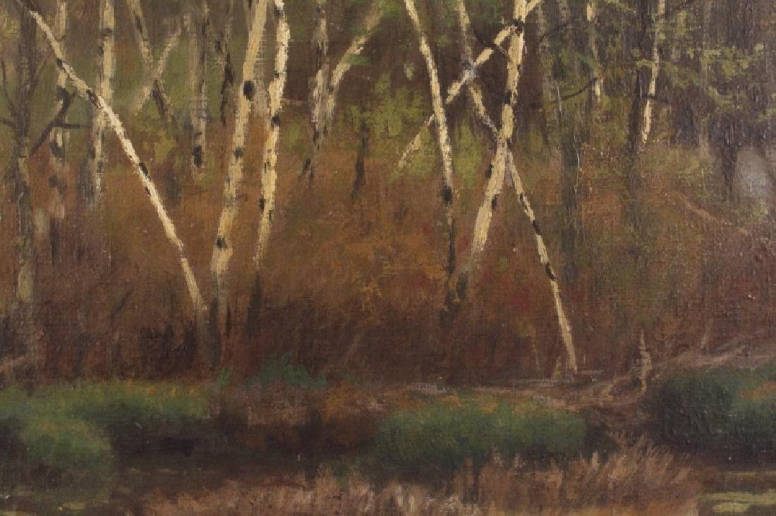 Marcus Waterman, American Landscape Oil on Canvas - 6