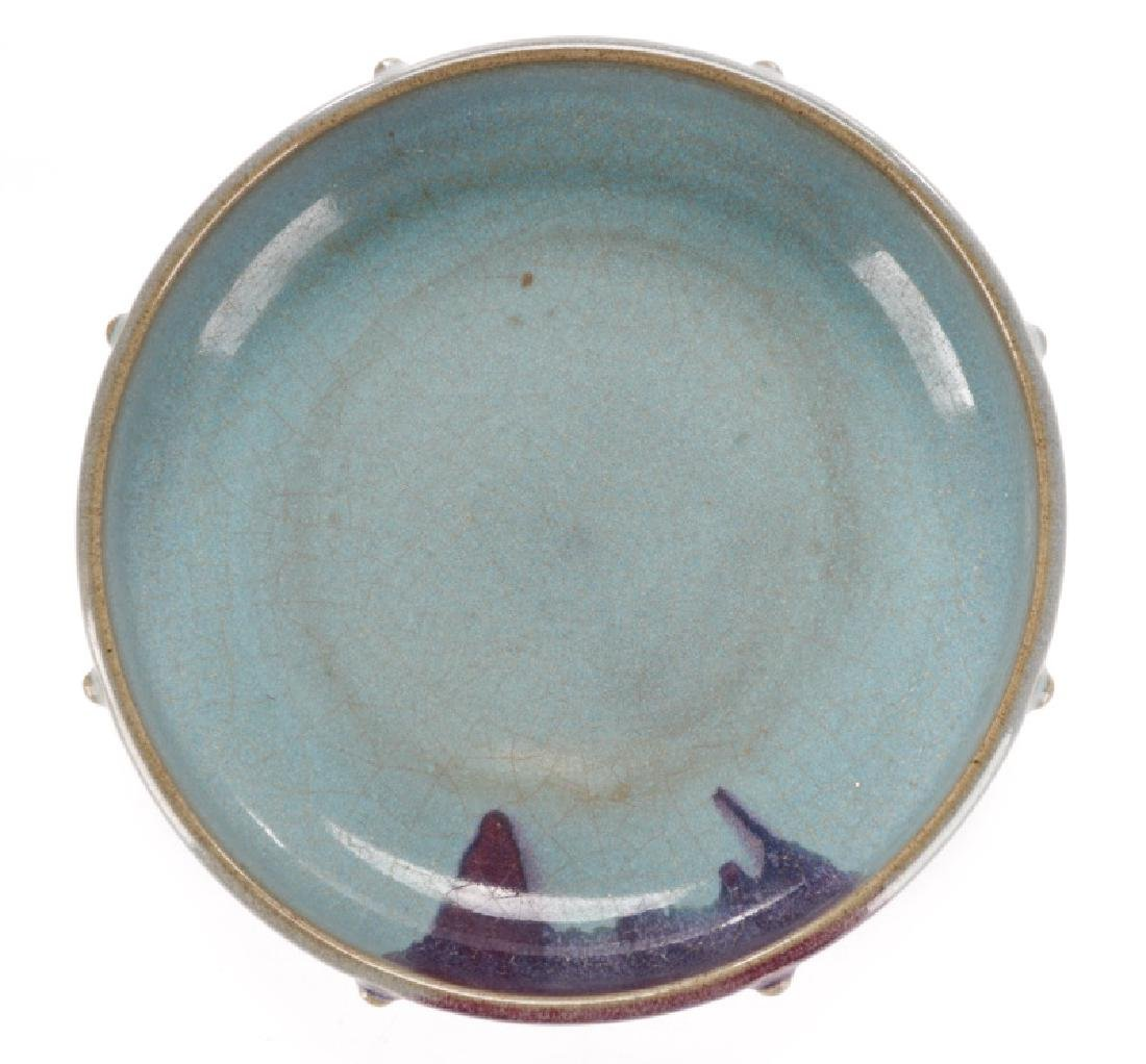 Chinese Jun Ware Porcelain Narcissus Bowl - 10