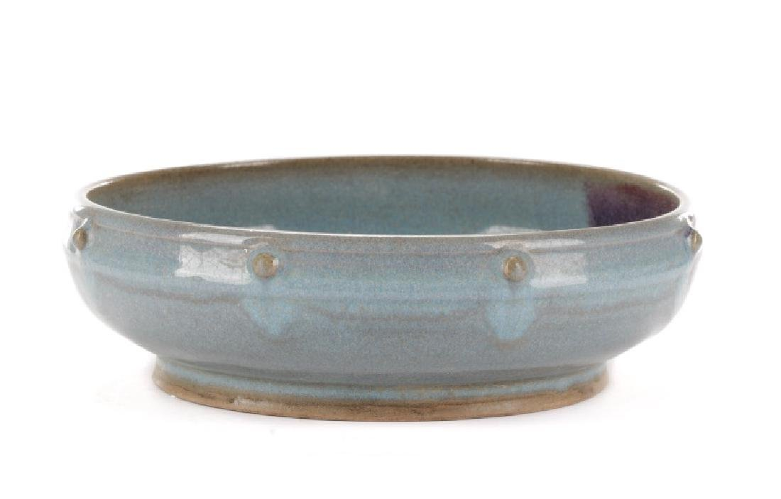 Chinese Jun Ware Porcelain Narcissus Bowl - 2