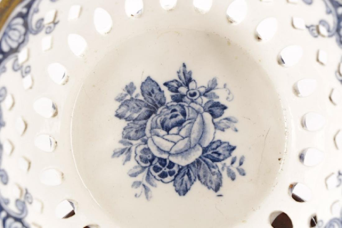 Chinese Porcelain Basket & Royal Vienna Dish - 5