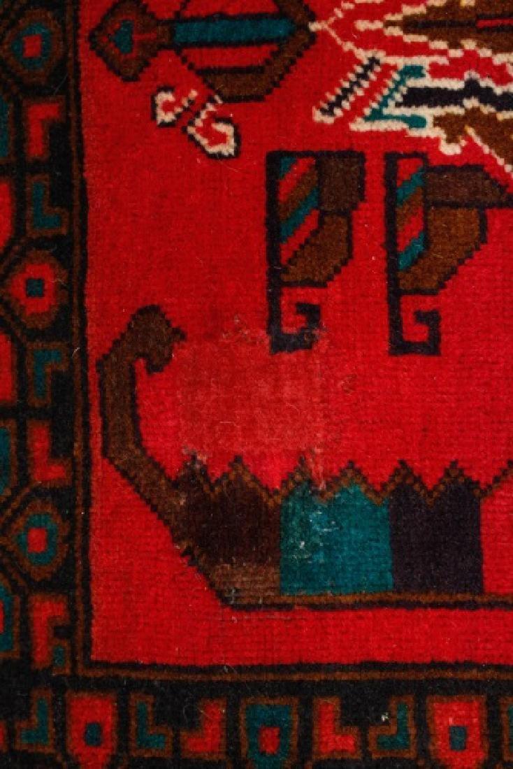 "Hand Woven Baluchi Throw Rug (2' 8"" x 4' 8"") - 3"