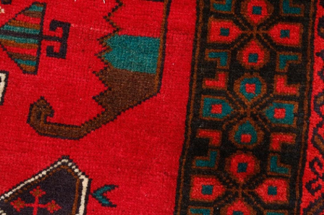 "Hand Woven Baluchi Throw Rug (2' 8"" x 4' 8"") - 4"